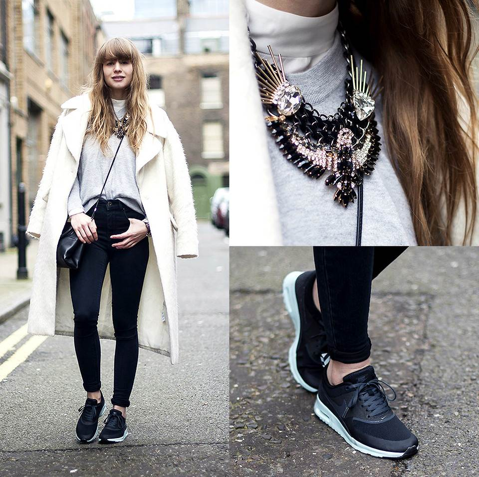 Nike Air Max Sneakers Street Outfit Inspirations (Women) U00bb Celebrity Fashion Outfit Trends And ...