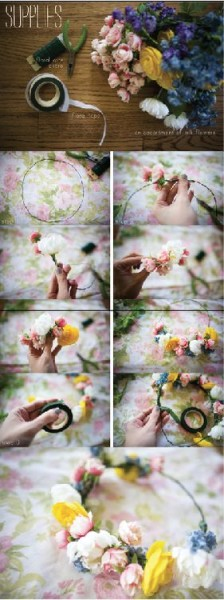 Must Try: DIY Flower Crown Tutorials