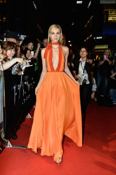 Nicola Peltz in Prada Dress