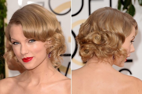 2014 Taylor Swift Haircut - Shoulder Length Styles