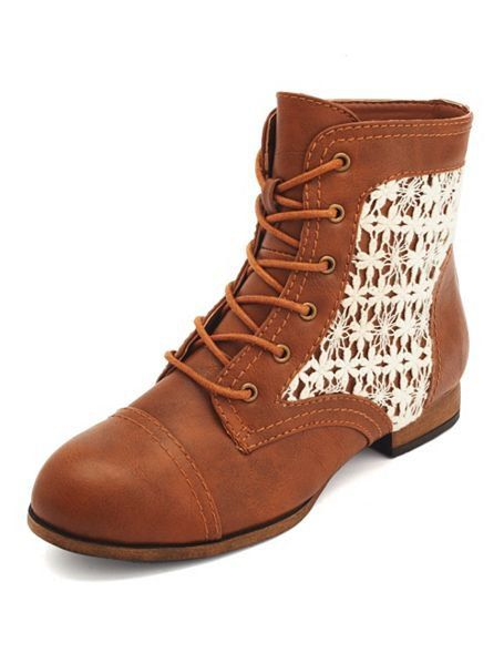 Girly Inset Fall Boots