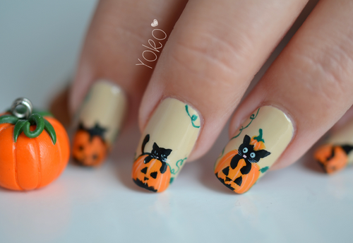 Halloween Nail Art Design Inspirations