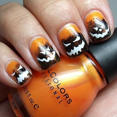halloween nail art design inspirations » celebrity fashion