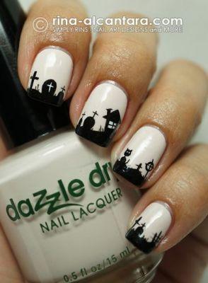 Halloween Nail Art Design Inspirations