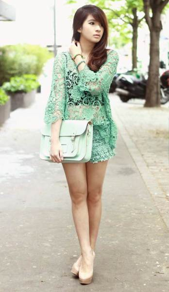Anastasya Siantar Mint Green Ideas