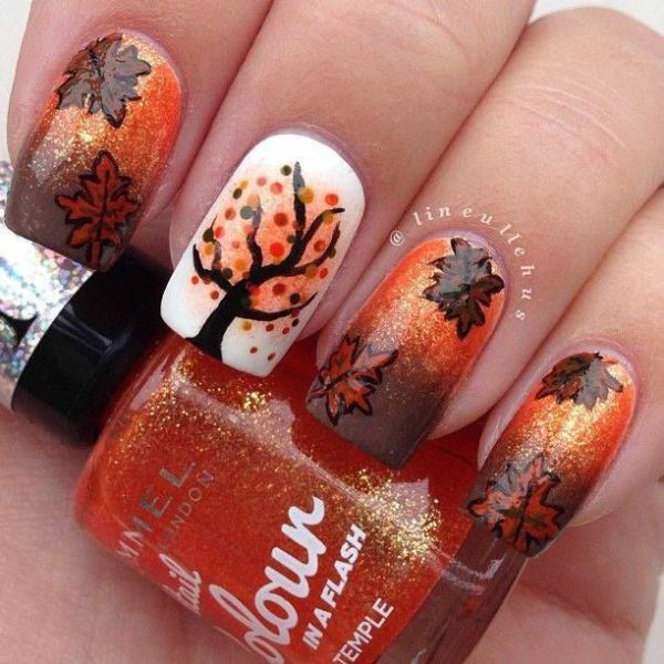 Fall Nail Art Design Inspirations