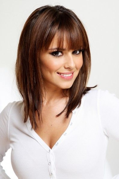 Medium Length With Bangs Hairstyle You Can Follow