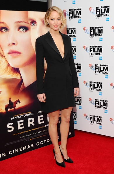 Jennifer Lawrence Little Black Dress