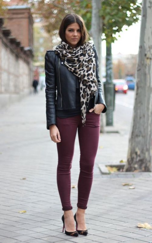 Best Leather Jacket Outfit Ideas