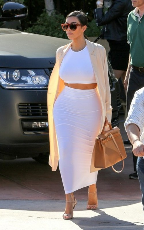 Kim Kardashian Crop Top