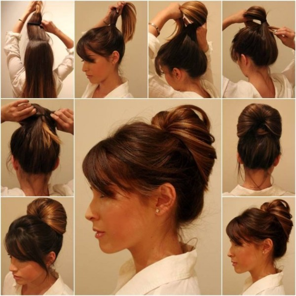 Hair Up do tutorial