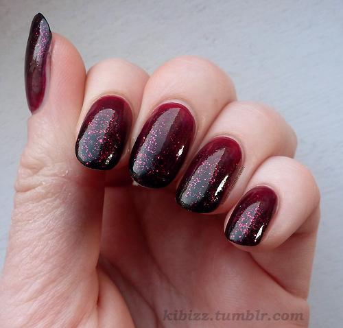 Burgundy Nails Design Ideas