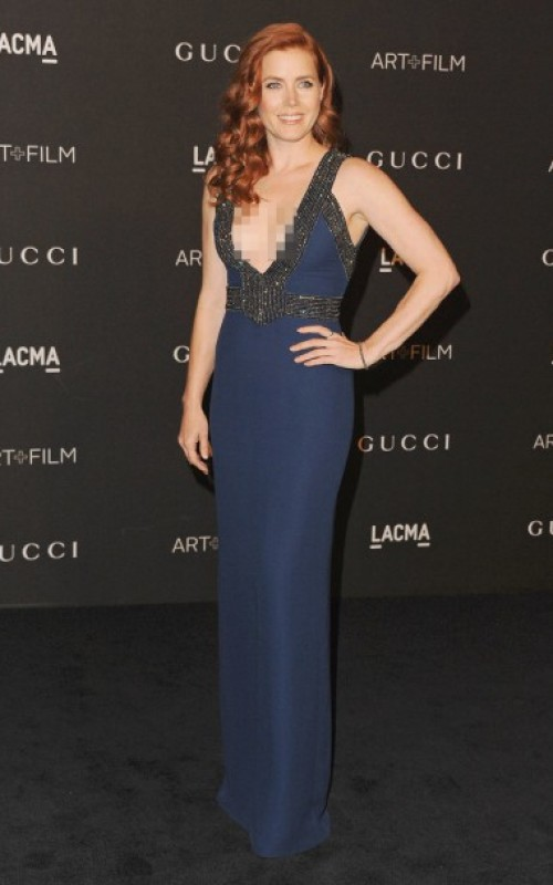 Amy Adams in Gucci Gown