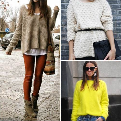 How To Wear Sweater For Winter Outfit
