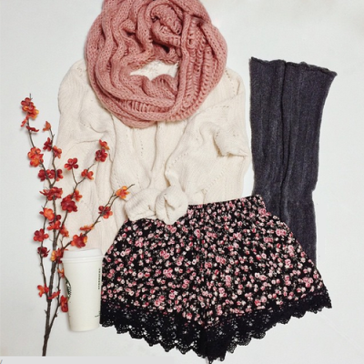 Winter Outfit Ideas With Sweater Weather