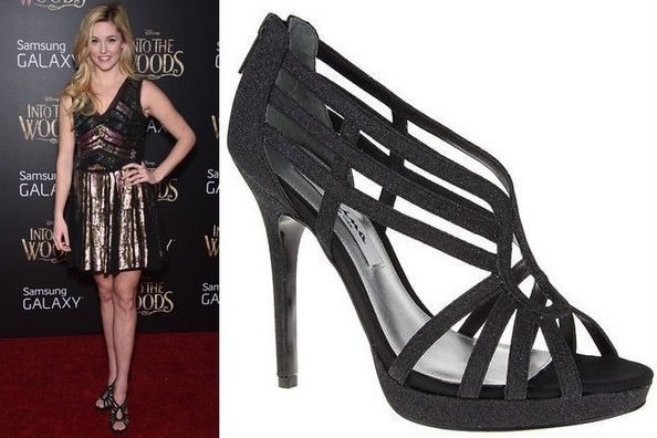 Taylor Louderman's Strappy Sandals