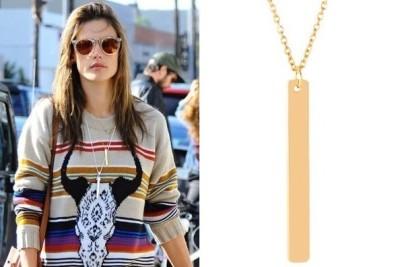 Alessandra Ambrosio's Necklace