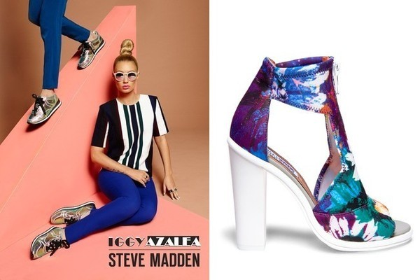 FANCY! Iggy Azaela's Shoes For Steve Madden Collection
