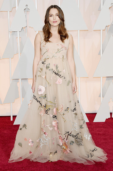 Keira Knightley in Valentino Couture