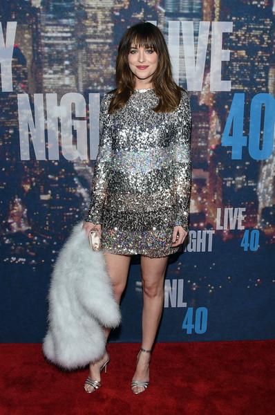 Dakota Johnson Beaded Dress