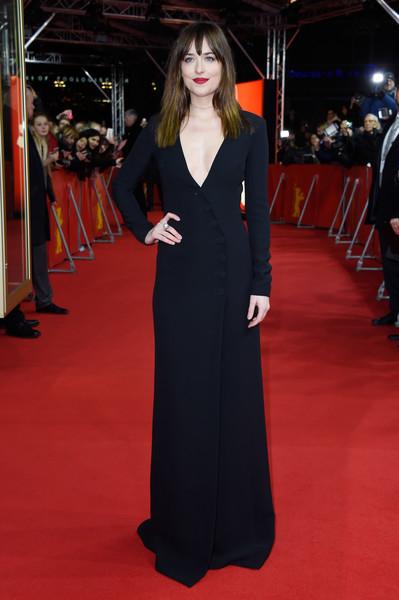 Dakota Johnson Evening Dress By Christian Dior