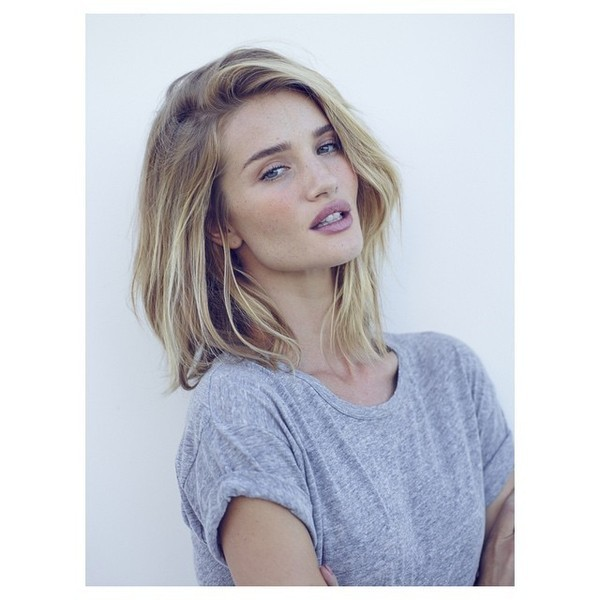 Rosie Huntington-Whiteley's Bedhead Cut