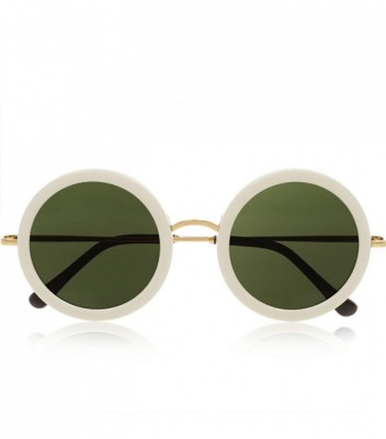 The Row Round-Frame Acetate and Metal Sunglasses
