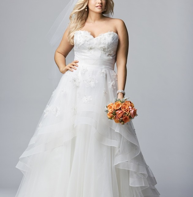 Plus Size Wedding Gowns Inspiration For Curvy Women