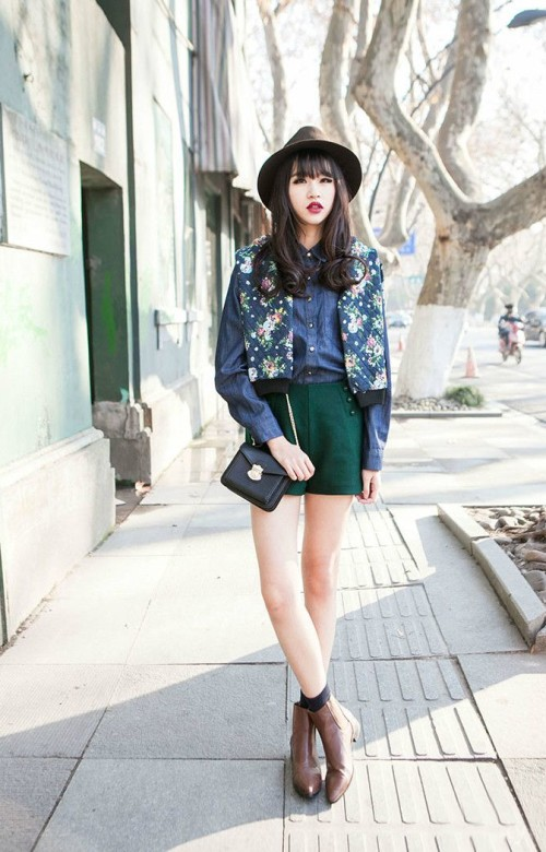 2015 Spring Korean Fashion Outfit Inspirations » Celebrity ...