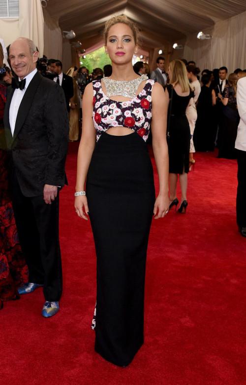 Jennifer Lawrence At Met Gala 2015