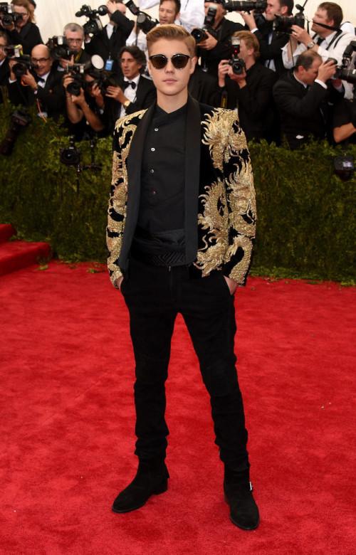 Justin-Bieber met Gala 2015