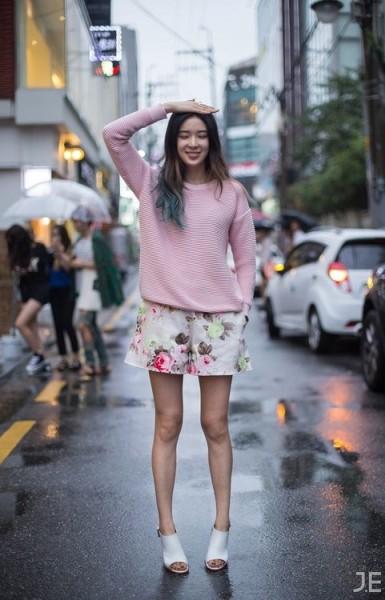 Streetstyle Irene Kim shot by Jonney Eun