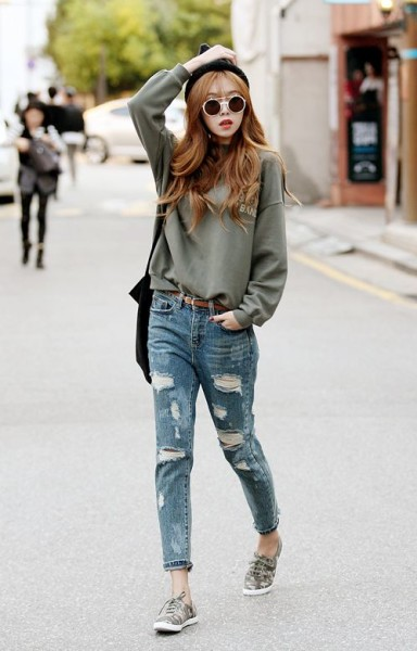 Wear Distressed Denim