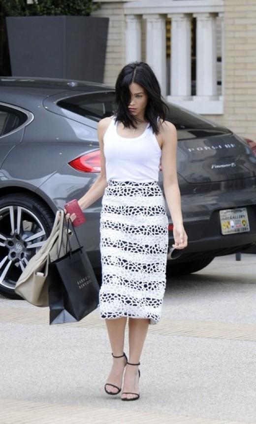 Pretty Pencil Skirt