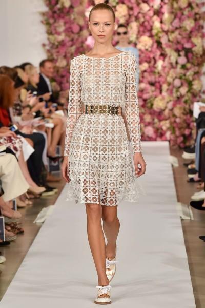 Ready-to-wear by Oscar De La Renta For Spring 2015