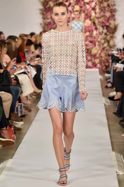 Ready-to-wear by Oscar De La Renta For Spring 2015