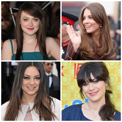 Brunnete Hair Style Inspiration By Celebrities