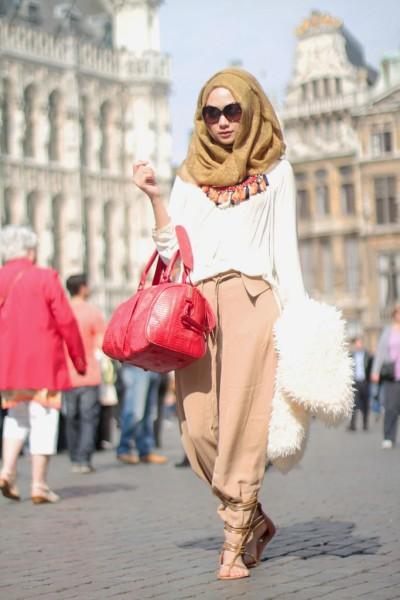 Nada Puspita  Muslimah fashion