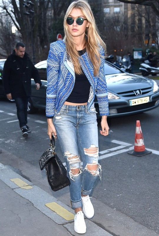 Gigi Hadid Inspires Our New Weekend Look
