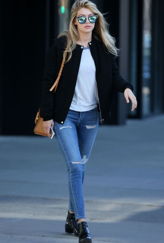 Good Jeans from Celebrity Street Style Oh, Gigi Hadid