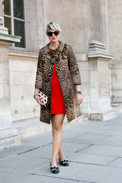 Red with Leopard