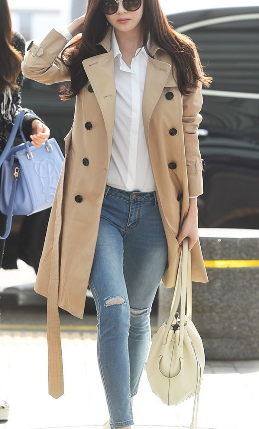 SNSD Seohyun Airport Fashion