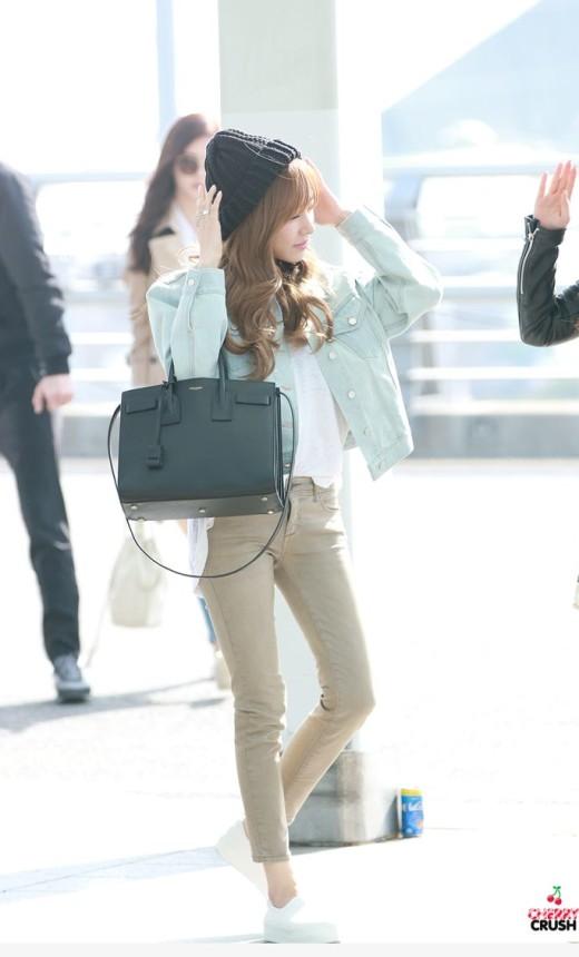 SNSD Tiffany Airport Fashion