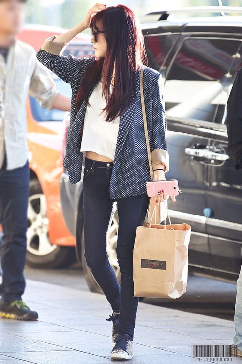 Snsd Tiffany 187 Celebrity Fashion Outfit Trends And Beauty