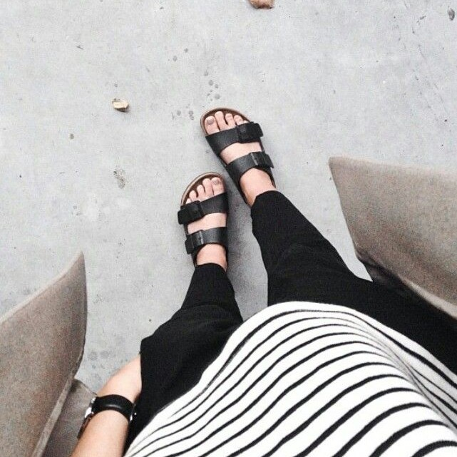 Stylish Outfits To Wear Birkenstocks