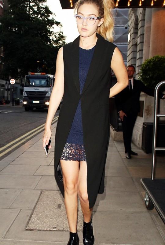 The Vest + Lace Dress Look