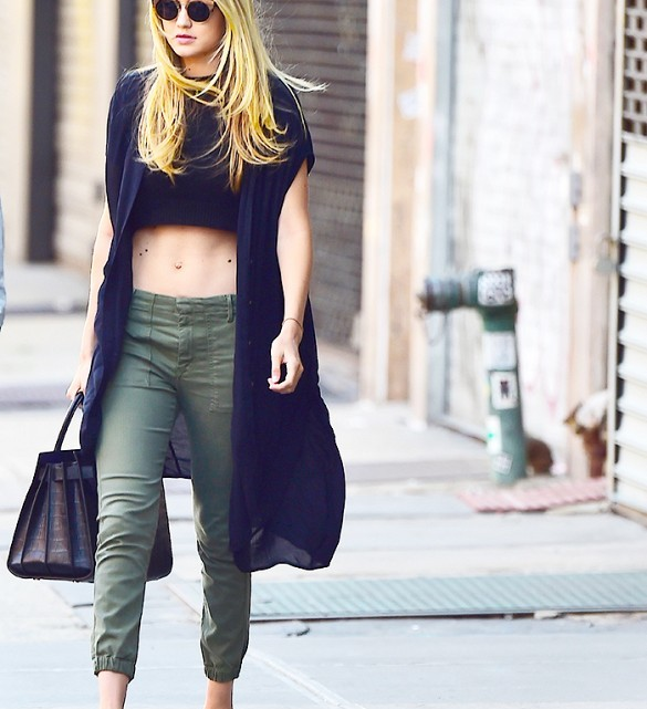 Gigi Hadid Street Style: Young And Inspired!