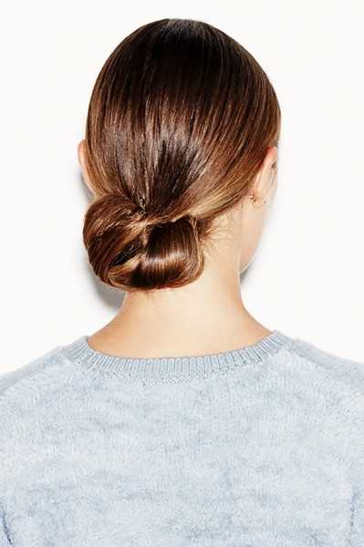 Cool-Girl Chignon by Justin Coit