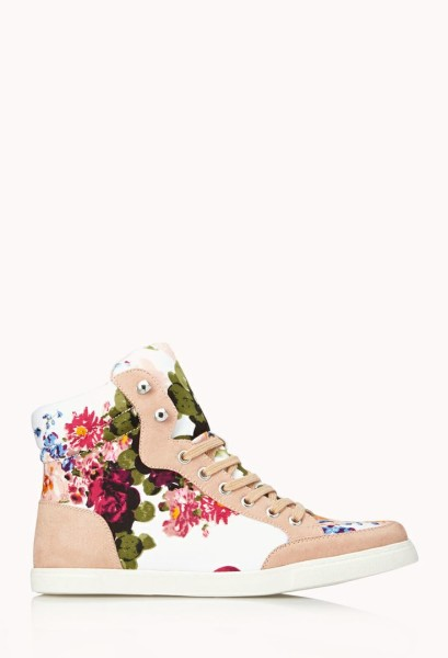 Favorite Floral Sneakers by FOREVER21 Sweet kicks
