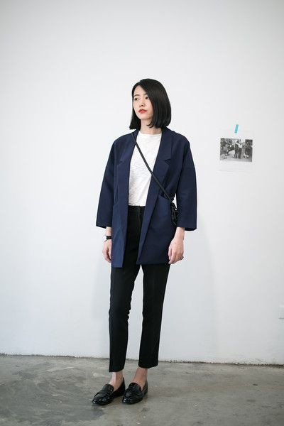 Picked Color: Blue Navy Outfit Inspirations You can follow!